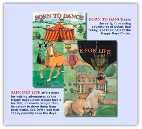 Children's novels Katherine Reynolds dancing horse circus
